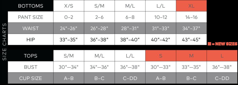 size-chart-onzie-e-shop-bx-studio-montreal